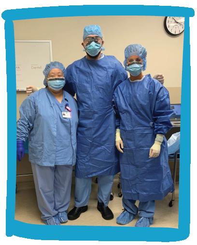 OHP hospital team